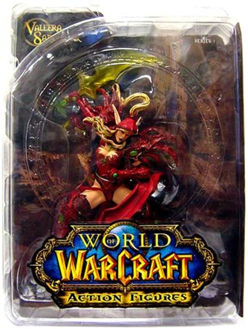 World of Warcraft Series 1 Valeera Sanguinar Action Figure [Blood Elf Rogue]