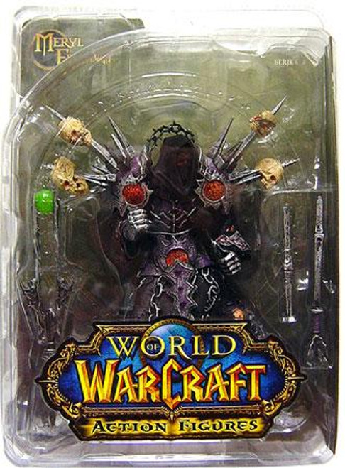 World of Warcraft Series 1 Meryl Felstorm Action Figure [Undead Warlock]