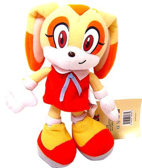 Sonic The Hedgehog Cream 8-Inch Plush Figure