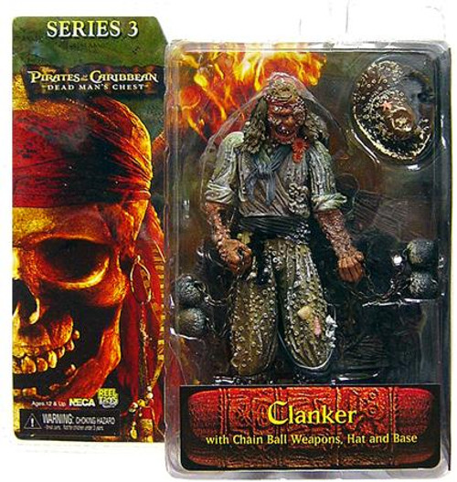 NECA Pirates of the Caribbean Dead Man's Chest Series 3 Clanker Action Figure