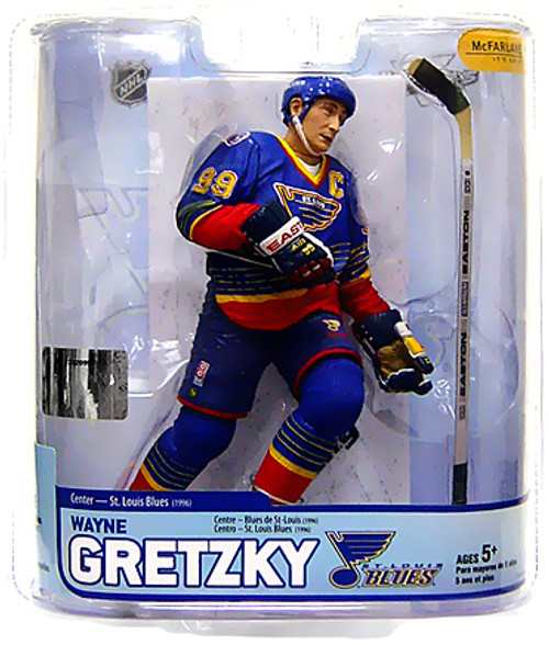 McFarlane Toys NHL St. Louis Blues Sports Picks Legends Series 5 Wayne Gretzky Action Figure