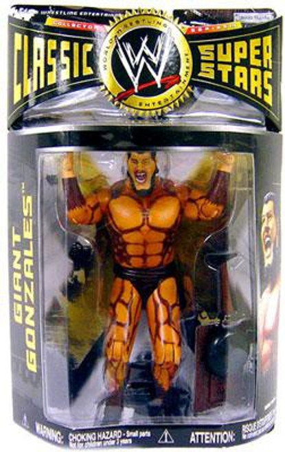 WWE Wrestling Classic Superstars Series 16 Giant Gonzales Action Figure