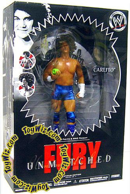 WWE Wrestling Unmatched Fury Series 3 Carlito Action Figure