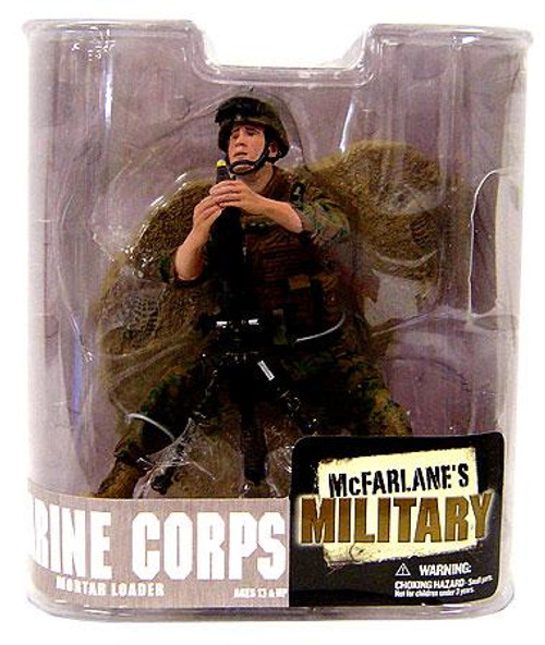McFarlane Toys McFarlane's Military Series 6 Marine Corps Mortar Loader Action Figure [Random Ethnicity]