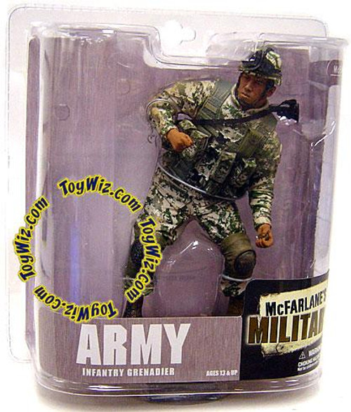McFarlane Toys McFarlane's Military Series 6 Army Infantry Grenadier Action Figure [Random Ethnicity]