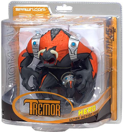 McFarlane Toys Series 32 The Adventures of Spawn 2 Tremor Action Figure [Orange]
