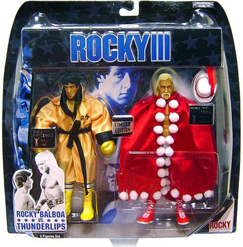 Rocky III Rocky vs. Thunderlips Exclusive Action Figure 2-Pack