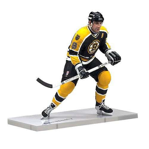 McFarlane Toys NHL Boston Bruins Sports Picks Legends Series 6 Cam Neely Action Figure [Black Jersey]