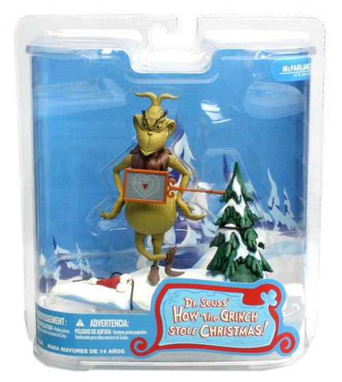 McFarlane Toys Dr. Seuss How the Grinch Stole Christmas! Two Sizes Too Small Action Figure