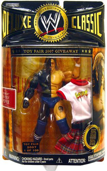 WWE Wrestling Deluxe Classic Exclusives Rowdy Roddy Piper Exclusive Action Figure [WrestleMania VI]