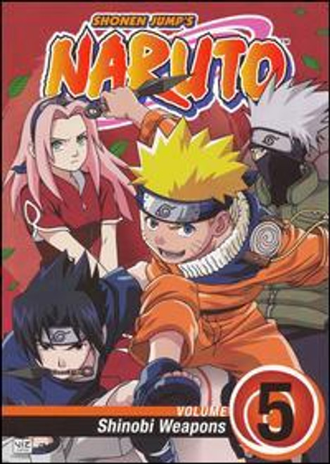 Naruto Shinobi Weapons DVD #5 [Volume 5]