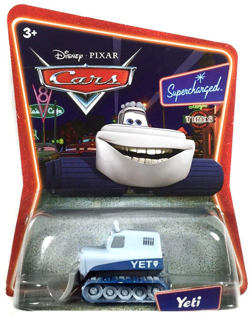 Disney Cars Supercharged Yeti Diecast Car
