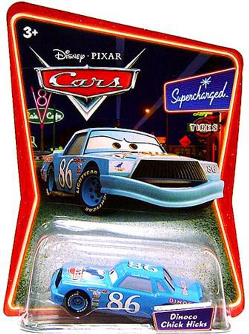 Disney Cars Supercharged Dinoco Chick Hicks Diecast Car