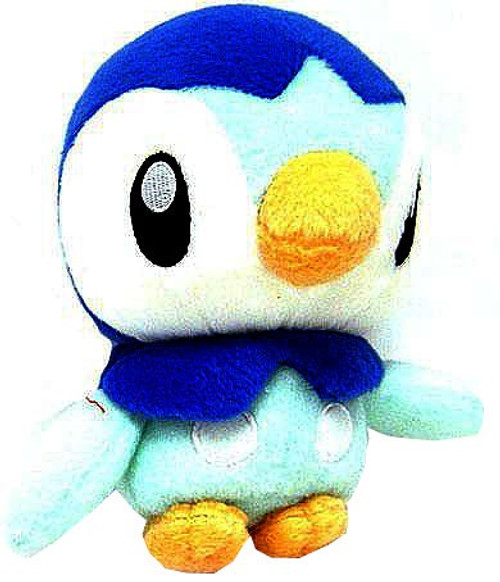 Pokemon Diamond & Pearl 5 Inch Piplup Plush [Arms Up]
