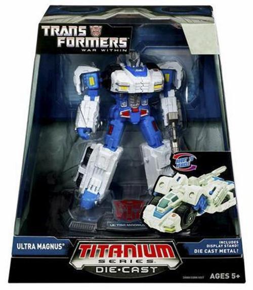 """Transformers War Within TItanium Series Ultra Magnus 6-Inch 6"""" Diecast Figure [War Within]"""