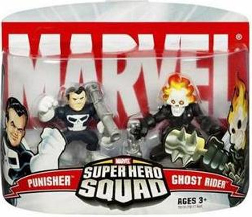 Marvel Super Hero Squad Series 2 Ghost Rider & Punisher Action Figure 2-Pack