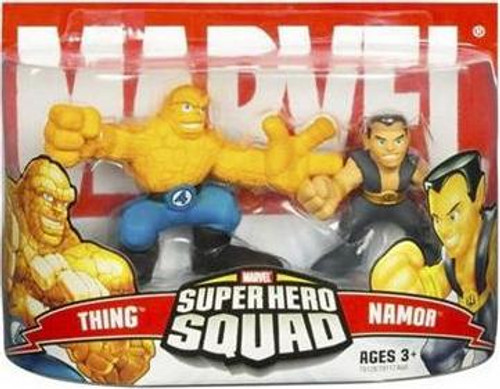 Marvel Super Hero Squad Series 3 Thing & Namor Action Figure 2-Pack