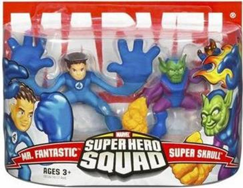 Marvel Super Hero Squad Series 3 Mr. Fantastic & Super Skrull Action Figure 2-Pack