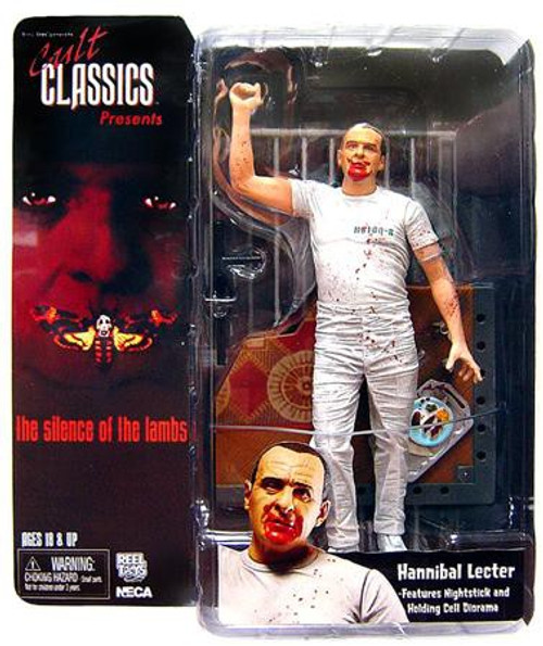 NECA The Silence of the Lambs Cult Classics Presents Hannibal Lecter Action Figure [Holding Cell]