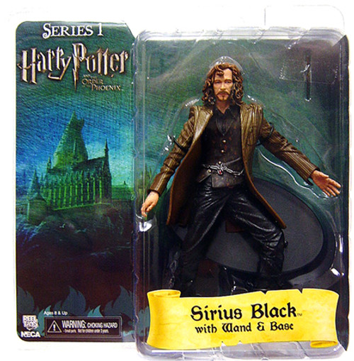 NECA Harry Potter The Order of the Phoenix Series 1 Sirius Black Action Figure