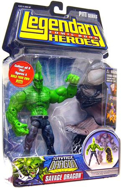 Marvel Legendary Heroes PITT Series Savage Dragon Action Figure [No Shirt]