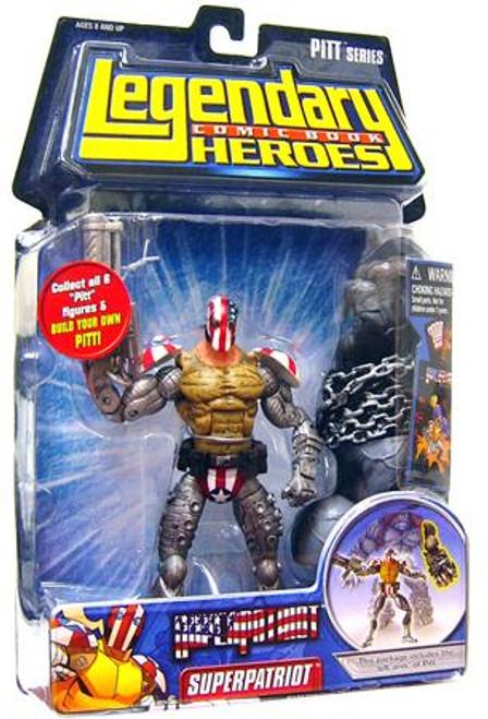 Marvel Legendary Heroes PITT Series Superpatriot Action Figure [Mask On]