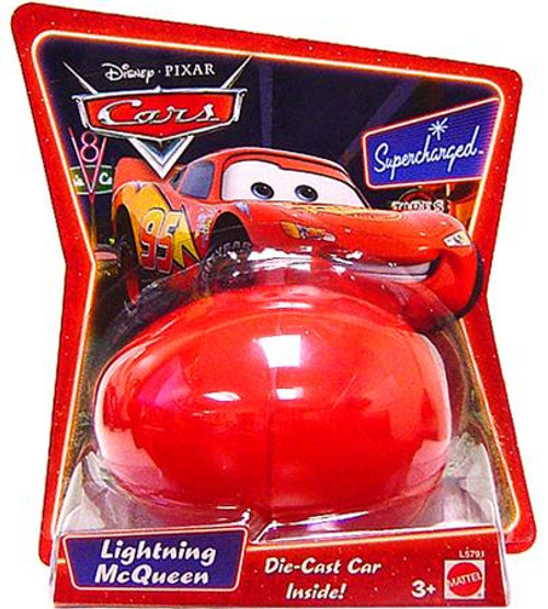 Disney Cars Supercharged Easter Egg Lightning McQueen Diecast Car