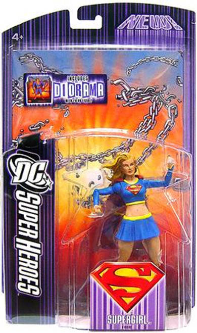 DC Superman Super Heroes Supergirl Action Figure [Modern Costume]