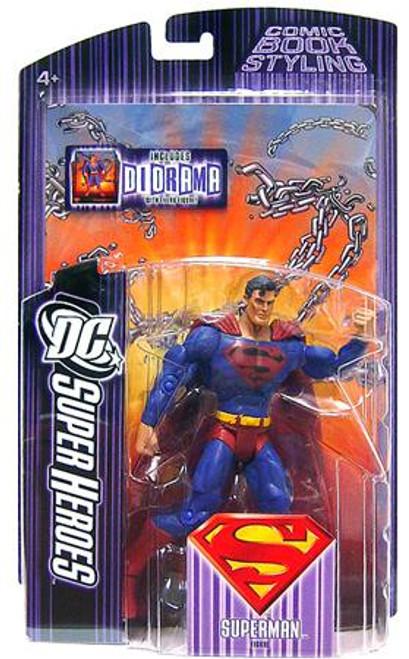 DC Super Heroes Superman Action Figure [Black Symbol Variant]