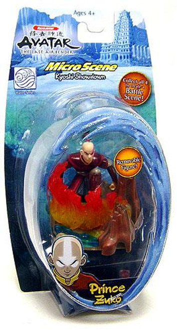 Avatar the Last Airbender Water Series Prince Zuko Mini Figure [Damaged Package]