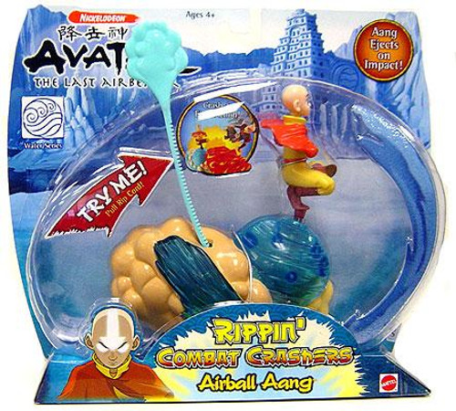 Avatar the Last Airbender Rippin' Combat Crashers Airball Aang Figure Set