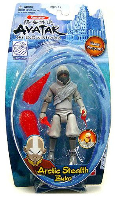 Avatar the Last Airbender Water Series Zuko Action Figure [Arctic Stealth]