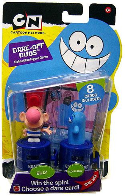 Cartoon Network Dare-off Duos Collectible Figure Game Billy & Blooregard Figure 2-Pack