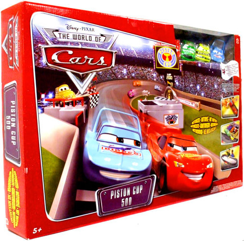 Disney Cars The World of Cars Piston Cup 500 Exclusive Track Set