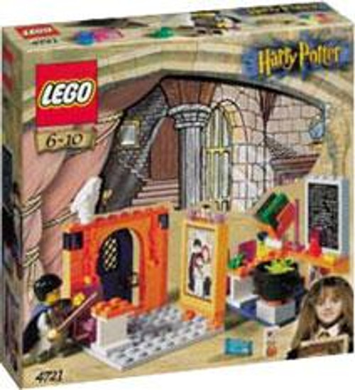 LEGO Harry Potter Series 1 Sorcerer's Stone Hogwarts Classroom Set #4721