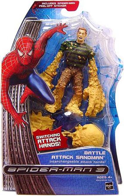 Spider-Man 3 Battle Attack Sandman Action Figure