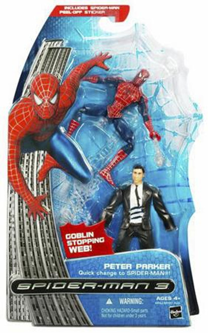 Spider-Man 3 Peter Parker Action Figure