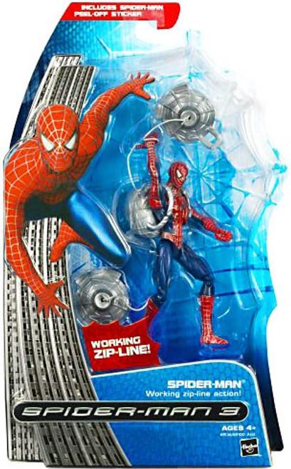 Spider-Man 3 Spider-Man Action Figure [Working Zip-Line Action]