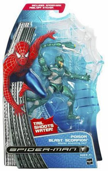 Spider-Man 3 Poison Blast Scorpion Action Figure