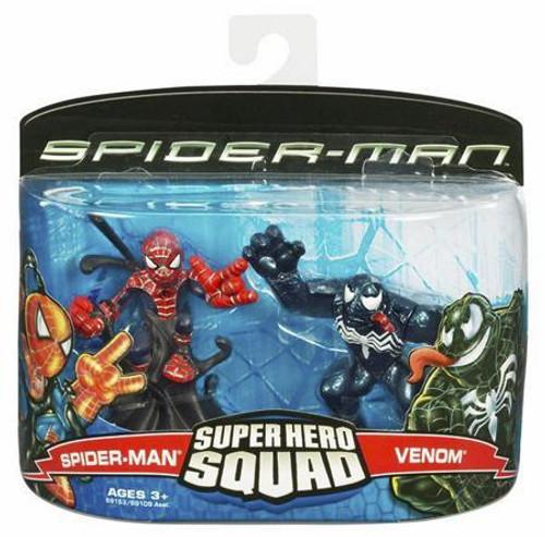 Spider-Man Movie Super Hero Squad Spider-Man & Venom Action Figure 2-Pack