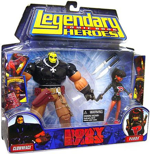 Marvel Legendary Heroes 2-Packs Body Bags Action Figure 2-Pack