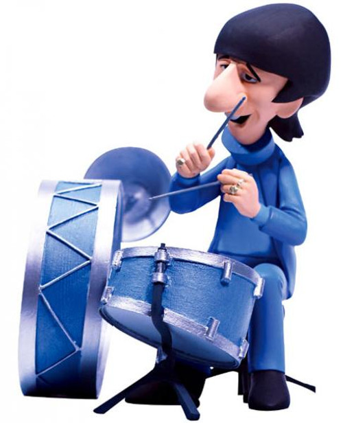 McFarlane Toys The Beatles Saturday Morning Cartoon Ringo Starr Action Figure