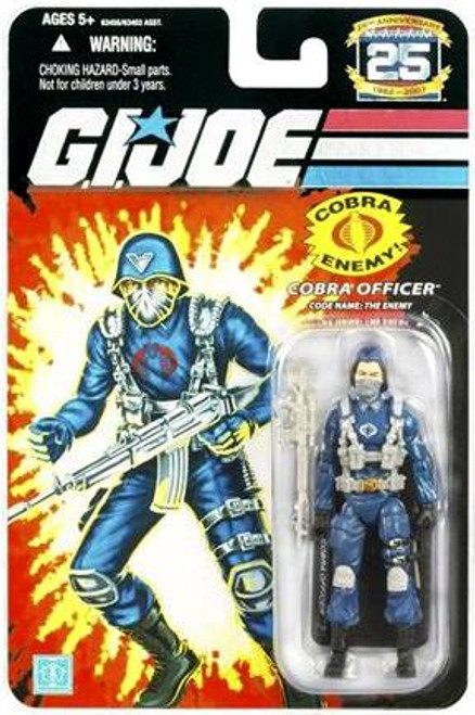 GI Joe 25th Anniversary Wave 1 Cobra Officer Action Figure