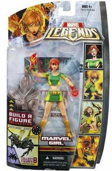 Marvel Legends Series 18 Brood Queen Marvel Girl Action Figure