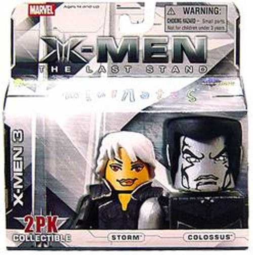 Marvel X-Men The Last Stand Minimates Series 14 Storm & Colossus Minifigure 2-Pack