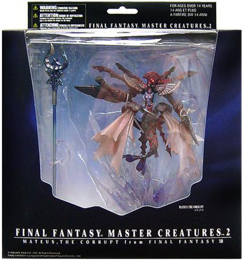 Final Fantasy Master Creatures Series 2 Mateus The Corrupt PVC Figure