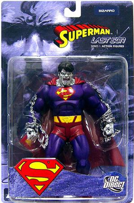DC Superman Last Son Series 1 Bizarro Action Figure