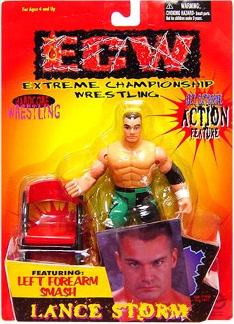 ECW Wrestling Champion Clashers Left Forearm Smash Lance Storm Action Figure