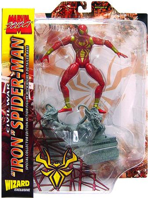 Marvel Select Iron Spider-Man Exclusive Action Figure [Civil War]