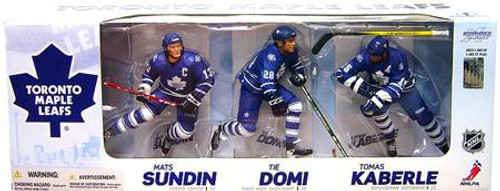 McFarlane Toys NHL Sports Picks Exclusive 3-Pack Toronto Maple Leafs Exclusive Action Figure 3-Pack